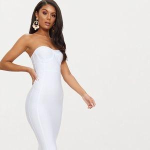 MAKE ME AN OFFER: White Bandage BodyCon Dress Grad